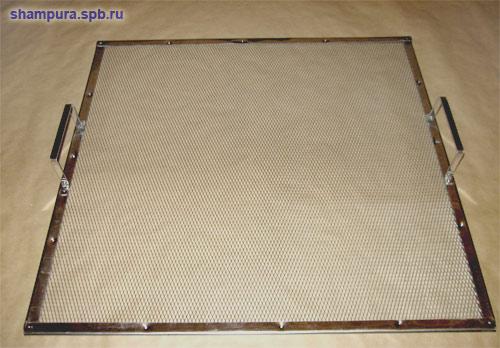 Сетки для коптилен, мангалов и грилей
