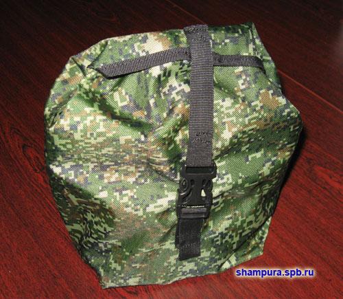 Печь с комбинированным армейским котелком в чехле