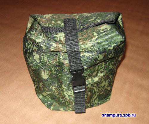Мини-печь для армейского котелка.